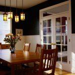 Tiffany style dining room