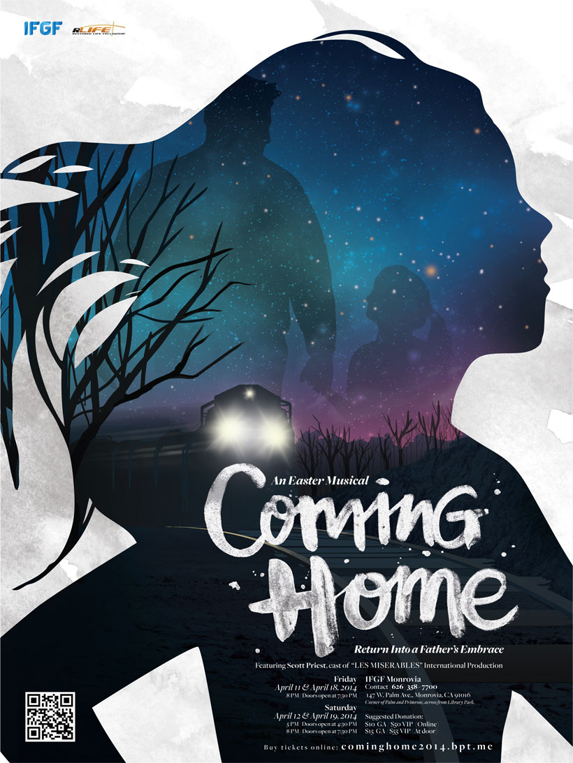 coming home poster graphic design3 - Poster Design Ideas