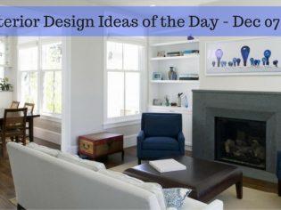 25 Interior Design Ideas of the Day – Dec 07, 2016