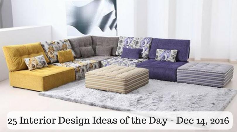 25 Interior Design Ideas of the Day – Dec 14, 2016