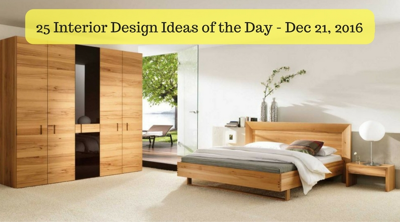 25 Interior Design Ideas of the Day – Dec 21, 2016