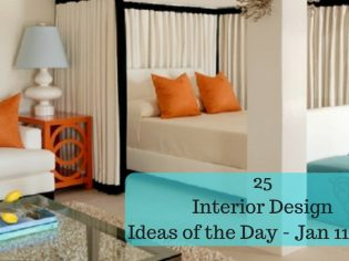 25 Interior Design Ideas of the Day – Jan 11, 2016