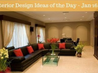25 Interior Design Ideas of the Day – Jan 16, 2016