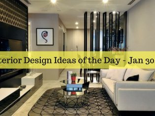 25 Interior Design Ideas of the Day – Jan 30, 2016