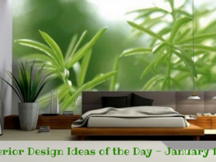 25 Interior Design Ideas of the Day – January 10, 2017