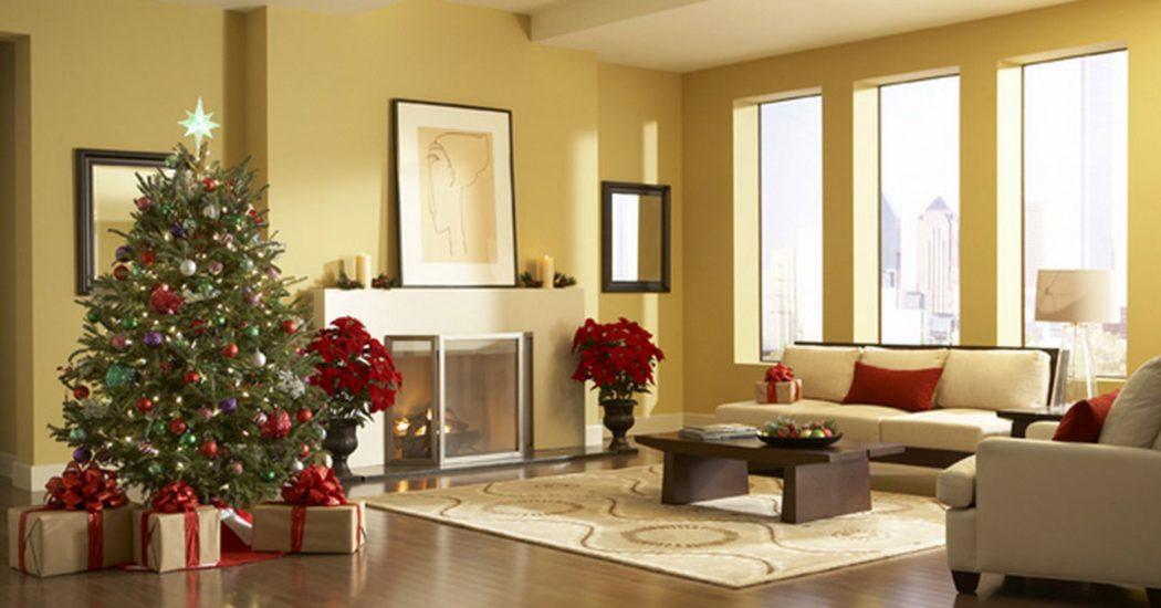 Интерьер квартиры к новому году