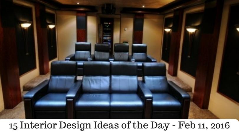 15 Interior Design Ideas of the Day – Feb 11, 2016
