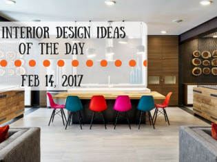 25 Interior Design Ideas of the Day – Feb 14, 2017
