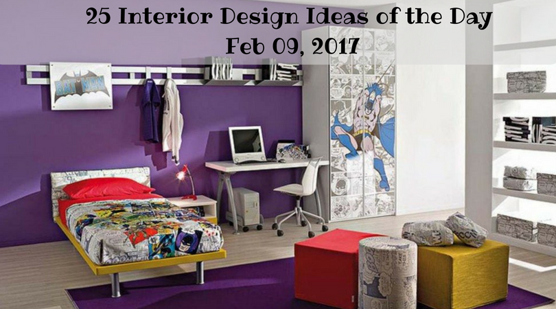 25 Interior Design Ideas of the Day – Feb 09, 2017