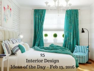 25 Interior Design Ideas of the Day – Feb 13, 2016