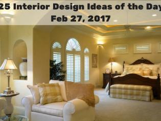 25 Interior Design Ideas of the Day – Feb 27, 2017