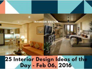 25 Interior Design Ideas of the Day – Feb 06, 2016