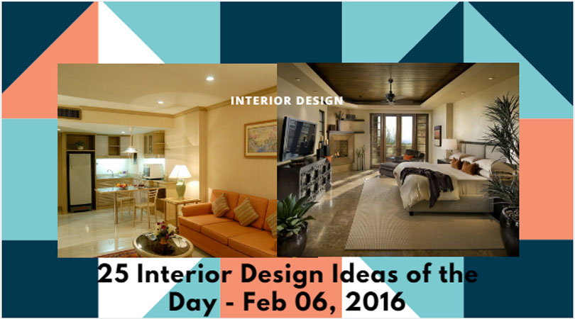 25 Interior Design Ideas of the Day – Feb 06, 2016