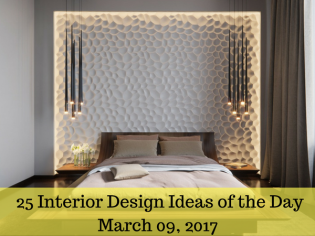 25 Interior Design Ideas of the Day – March 09, 2017