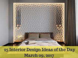 25 Interior Design Ideas of the Day – March 09, 2017