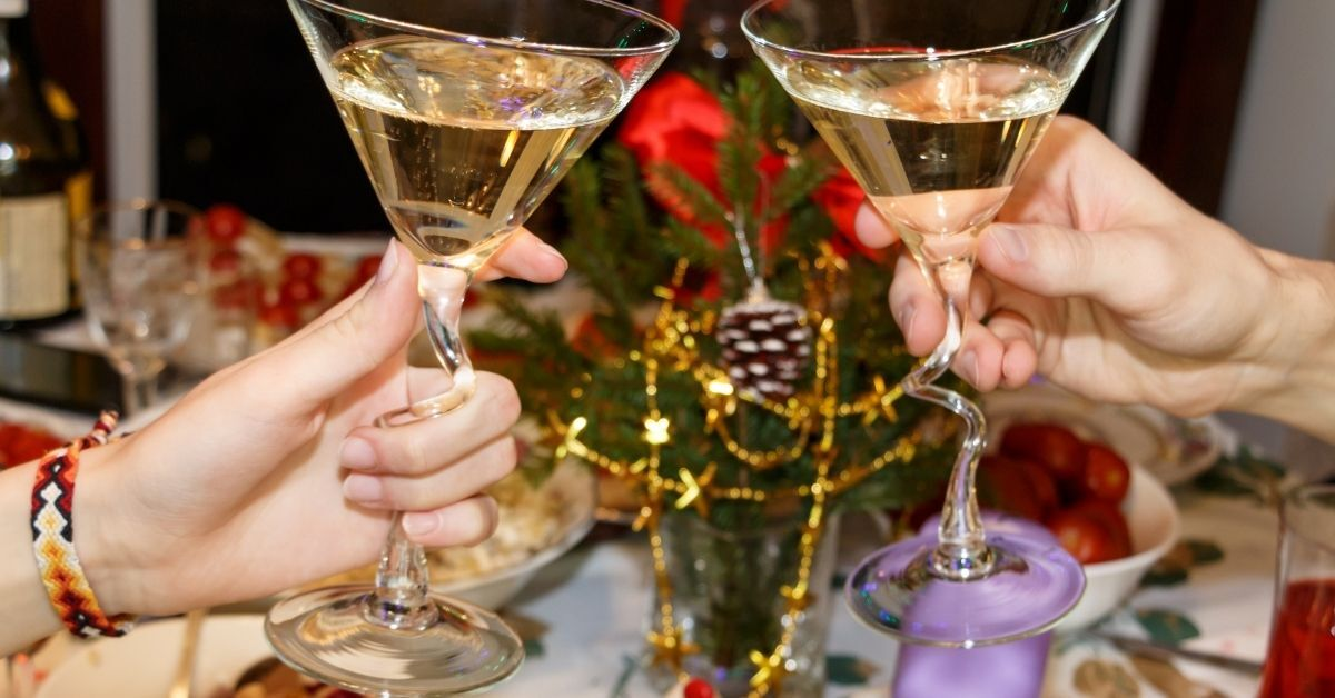 All About Champagne Coupe Stemware