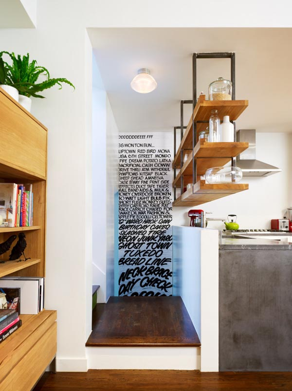 Create the illusion of more space with lighting