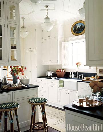 High-Ceilinged Kitchen