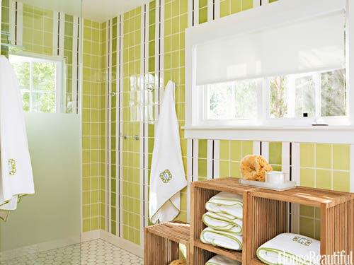 Lime Green Bath