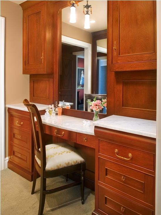 Master Closet Built-In Vanity