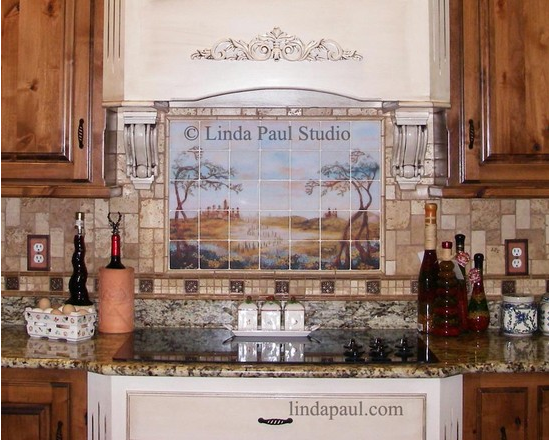 Rustic kitchen design with Italian Country