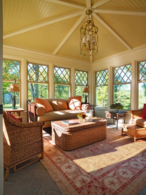 Elegant Formal Living Rooms: 50 Most Elegant Sunroom Furniture Designs