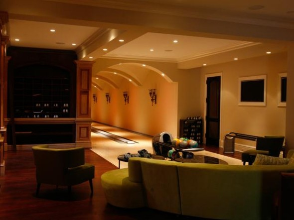 In-Home Bowling Alley Is Fun, Functional