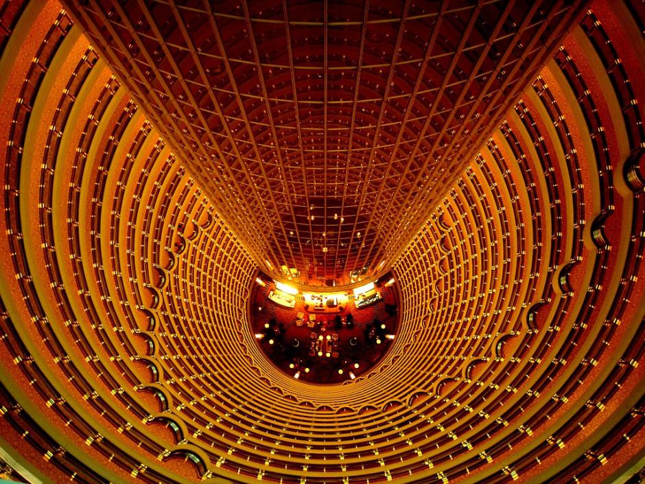 88 floors of atrium
