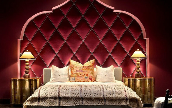 Bedrooms in Moroccan style