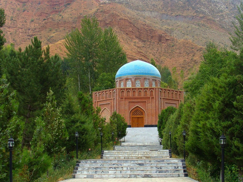 Rudaki Tomb in Panjkent , Tajikistan