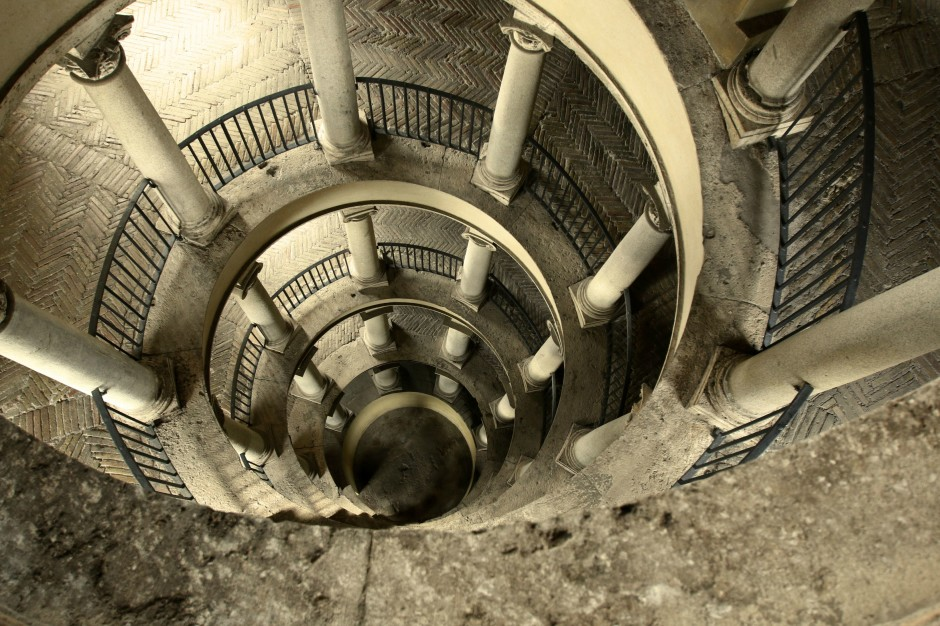 The Bramante Staircase at the Vatican