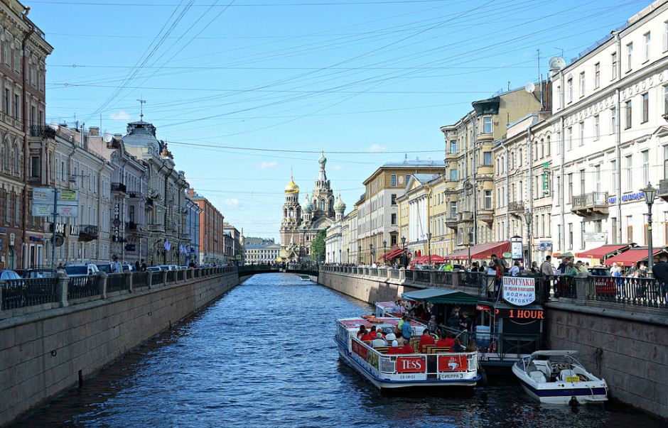 The Griboyedov Canal
