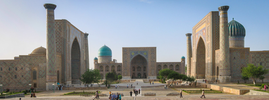 The Rajasthan in Samarkand, Uzbekistan