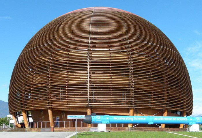 Globe of Science and Innovation - wood science museum at CERN
