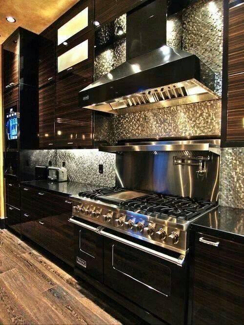 Black Kitchen Designs 8