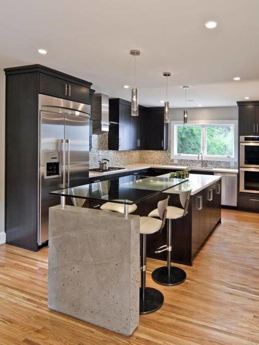 Black Kitchen Designs 9
