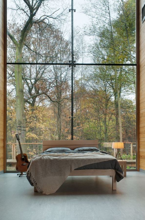 How do you like the view in this bedroom?