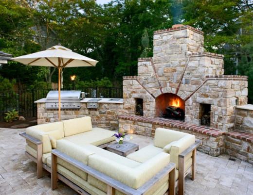 Modern Outdoor Kitchen Ideas 10