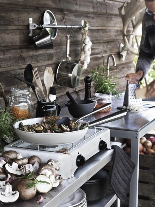 Modern Outdoor Kitchen Ideas 11