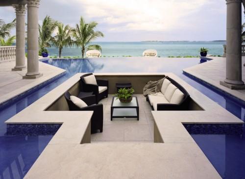 Pool Bedroom? I bring you Pool Living Room