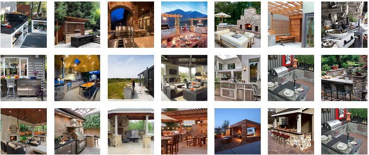 20+ Modern Outdoor Kitchen Ideas