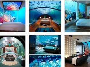 Luxury at Par Underwater Bedrooms