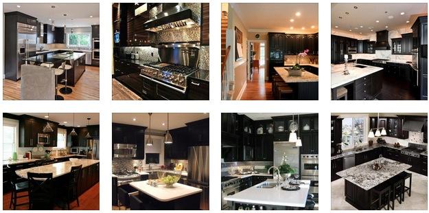 20+ Black Kitchen Designs
