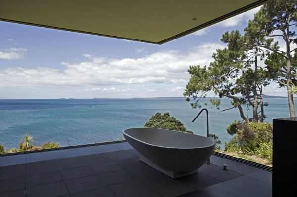 Simple Bathroom with a view