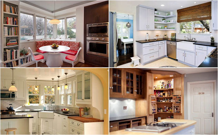 10 Simple and Effective ways to Fill the corners of the Kitchen
