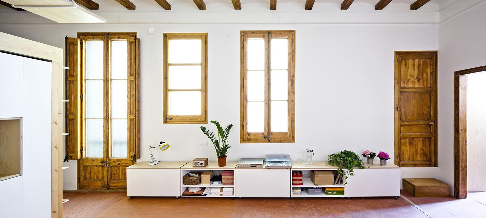 A Stunning Redesign of a 753-square-foot apartment