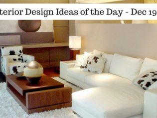 25 Interior Design Ideas of the Day – Dec 19, 2016