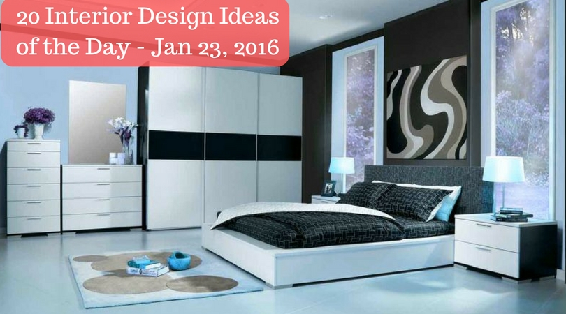 20 Interior Design Ideas of the Day – Jan 23, 2016