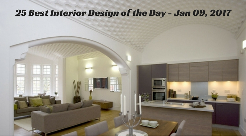 25 Best Interior Design of the Day – Jan 09, 2017