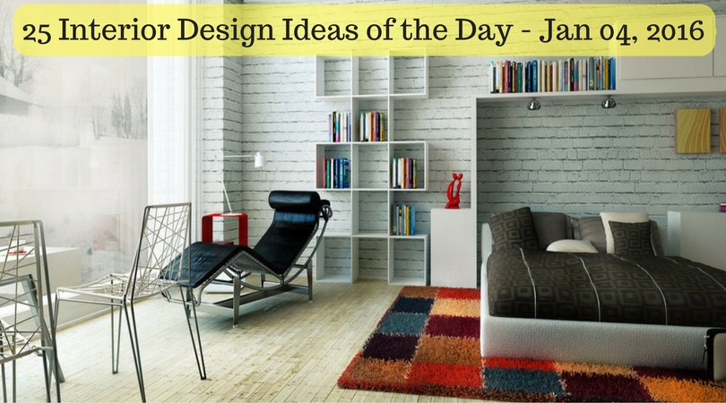 25 Interior Design Ideas of the Day – Jan 04, 2016